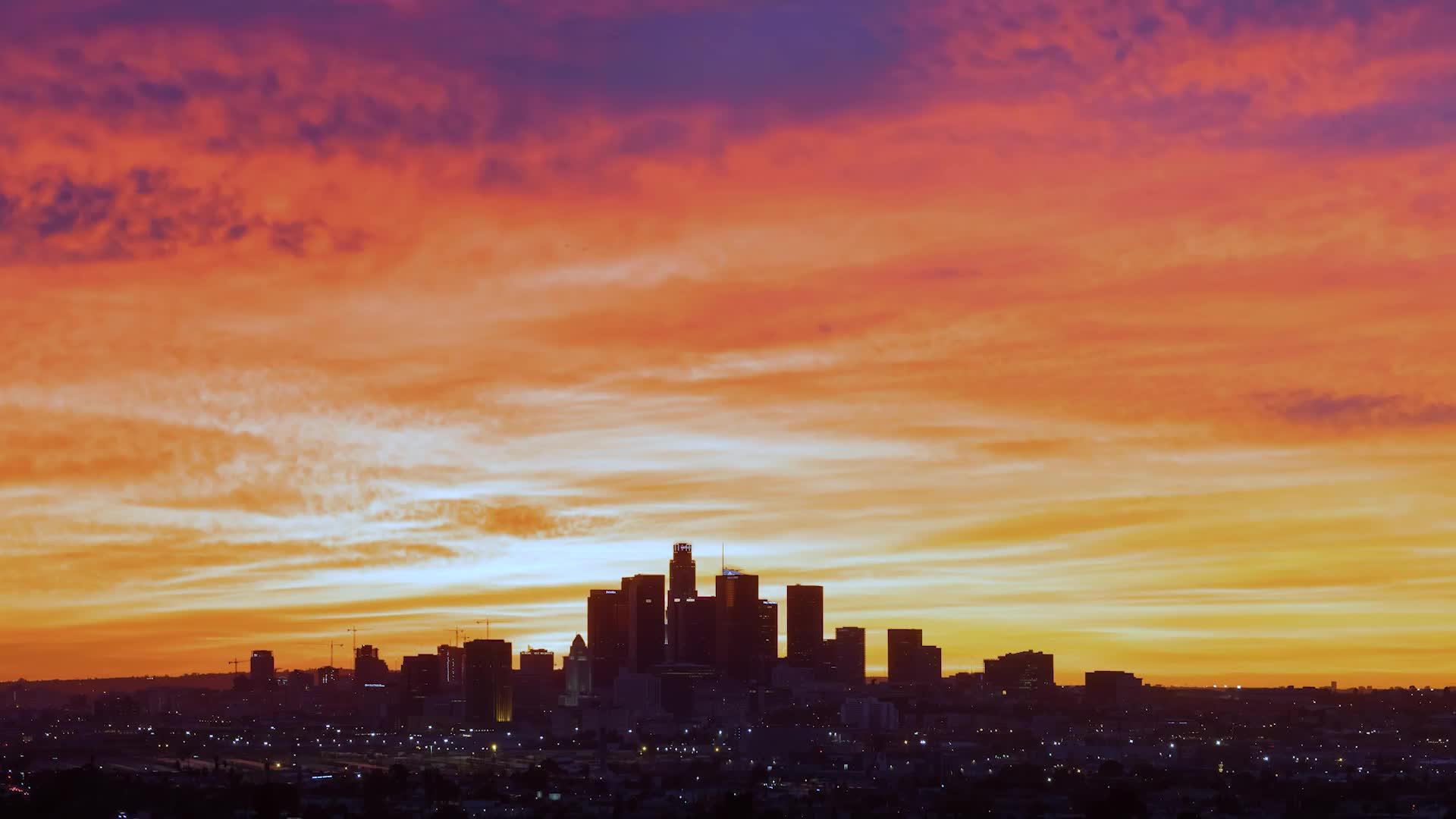 洛杉矶天际线